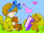 игра Девочка и кот