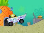 игра Губка Боб: Гонки на лодке