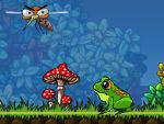 игра Отважный лягушонок