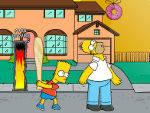 игра Пинок для Гомера