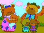 игра Семья медведей