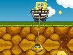 игра Губка Боб шахтёр