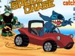 игра Stitch speed chase