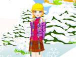 игра Зимняя одевалка