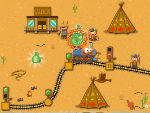 игра Западный поезд 2