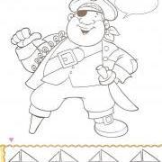 пират строит себе лодку